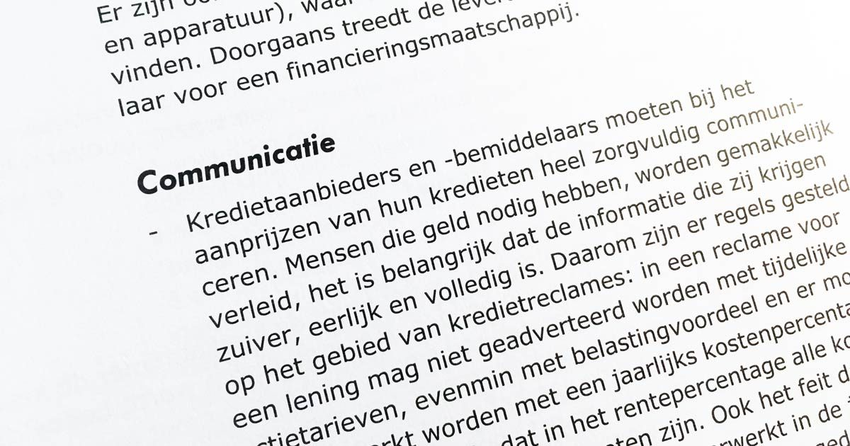 Communicatie...
