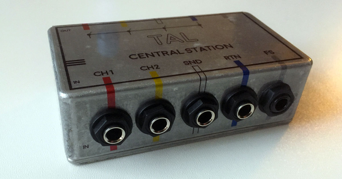 Central Station - patch box